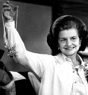 cnn betty ford the widow of late president gerald ford and a co ...