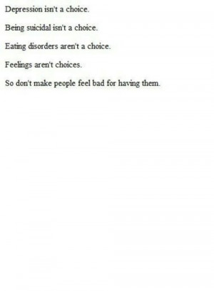 depression sad suicidal suicide quotes pain eating disorder alone ...