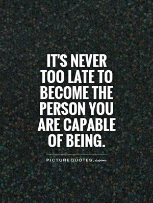 Quotes About Being Too Late