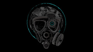 Gas Mask Girl Atomicreih