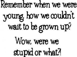 don't want to grow up!!