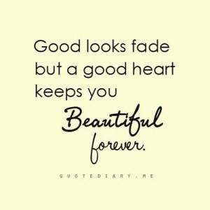 good heart..