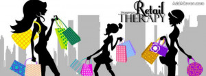 Retail Therapy Facebook Cover