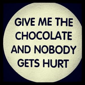 Oh yeah! #chocolate #quotes #instamood #instadaily #ig #iphonesia # ...