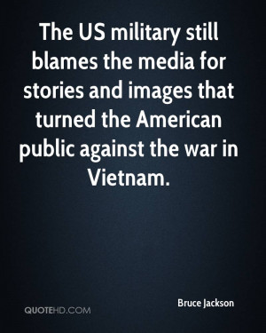 The US military still blames the media for stories and images that ...