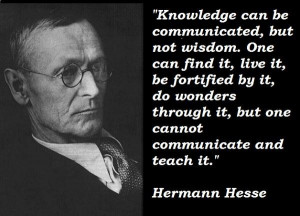 Knowledge can be communicated, but not wisdom | GnosticWarrior.com