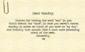Your Ecards cool, day, funny, monday, text, typewriter - inspiring ...