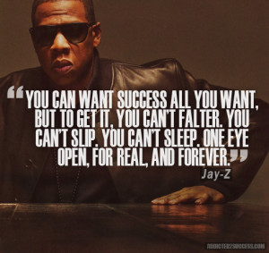 Jay-Z Inspirational Quote Addicted2Success