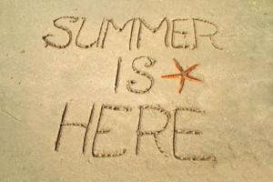 ... beginning of summer in the northern hemisphere summer begins with
