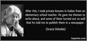 More Grazia Deledda Quotes