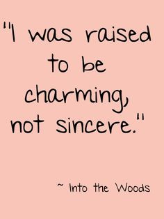 Into the woods, a GREAT musical. Small cast and songs have a ...