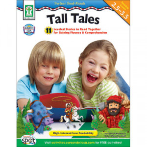 Partner Read-Alouds: Tall Tales Resource Book, Grades 2-3