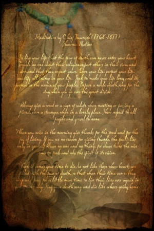 Tecumseh Poem: Tecumsehpoem Actofvalor, Tecumseh Poem, Movies Tecumseh ...