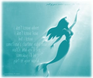 Little Mermaid Love Quotes Tumblr