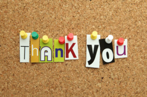 Saying thank you – and acknow ledging someone in your workplace for ...