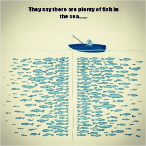 Plenty fish in the sea for fishing