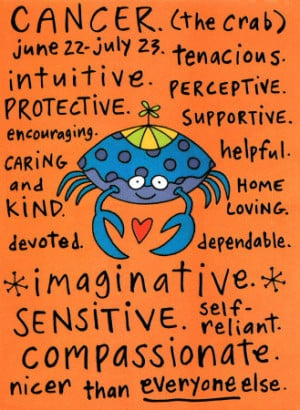 ... Special July Birthday Horoscope for Cancers (Love + Life) from Grear