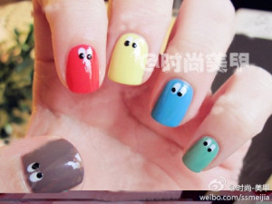 Funny Cute Nails Design