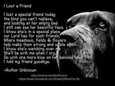 lost a friend #quote #dog #pets More
