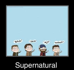 Cass FBI   Funniest supernatural episodes, Supernatural ...   Cass Quotes Spn