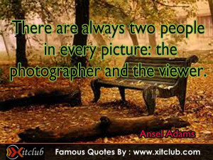 Share your Opinion on famous photography quotes ansel adams Clinic