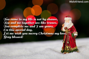 christmas messages for boyfriend www wishafriend com