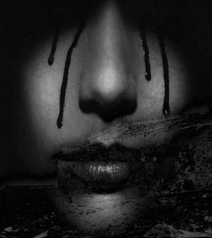 tears of blood mo dzu tags tears blood girl creepy tags tears blood ...