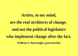Artful Quote: William S. Burroughs - Day 126