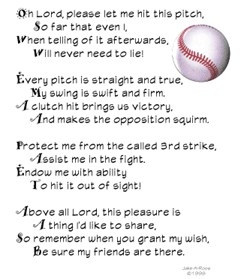Softball Prayer.....Kyle