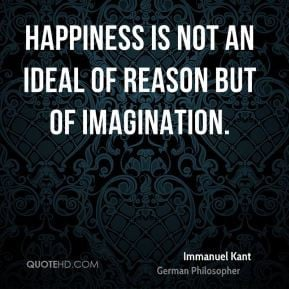 Immanuel Kant's Ideas and Philosophy