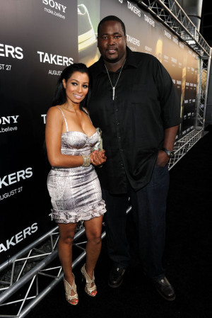 "Quinton Aaron & his girlfriend // ""Takers"" Movie Premiere in ..."