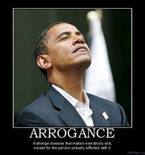 Most Arrogant Man in the World...