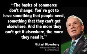 Michael Bloomberg on Business Basics
