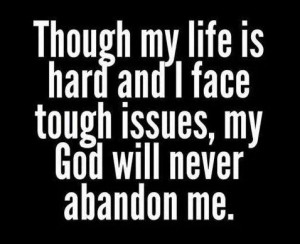 God is always at your side!!!