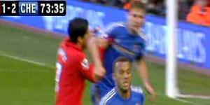 "Suarez ""bite"" overshadows last gasp equaliser"