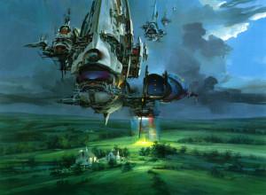 Spaceships – The stunning illustrations by John Berkey