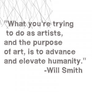 will smith quote the purple life