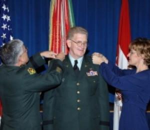 Lt. Gen. Eric B. Schoomaker, at his promotion ceremony Dec. 12, in ...