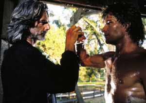 Sam Elliott, Patrick Swayze - Roadhouse, 1989