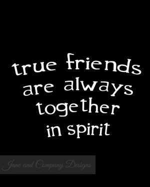 ... Long Distance Friendship Gifts, Anne of Green Gables Quote, 8x10