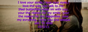 love your smile,I...