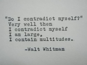 WALT WHITMAN Quote Typed on Typewriter by PoetryBoutique on Etsy, $9 ...