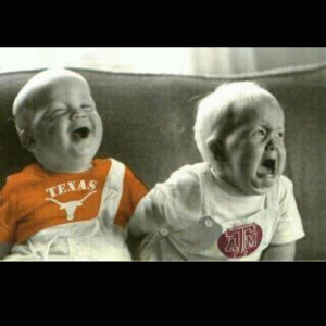 Funny longhorn vs aggie picture