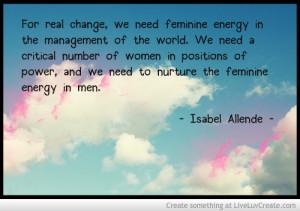 Feminine Energy Quote