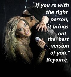 Beyonce & Jay Z quote about love
