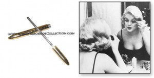 ... finish, manufactured by Helena Rubinstein , owned by Marilyn Monroe