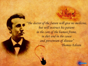 Perhaps one of the best health quotes...
