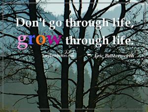 Positive Life Quotes Don Through...