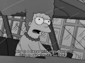 ... quotes words best the simpsons simpsons marge sayings answer marge
