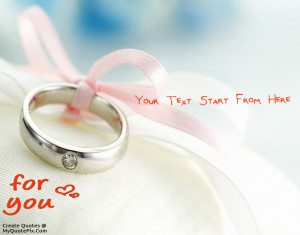 Quote Design Maker Proposal With Ring Quotes
